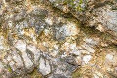 作为背景的岩石墙壁 库存照片