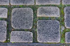 作为背景的年迈的土黑暗的花岗岩石头岩石地垫在铈 免版税库存照片