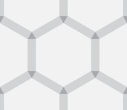 作为背景的六角抽象纹理 皇族释放例证
