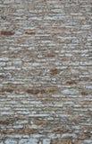 作为背景的老石灰石墙壁 免版税库存照片