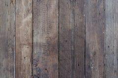 作为背景的老自然土气棕色木纹理墙壁纹理 图库摄影