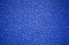 作为背景的蓝色美好的皮革纹理 向量例证
