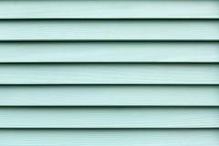 作为背景的绿松石木板条纹理 免版税图库摄影