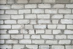 作为背景砖老墙壁 库存照片