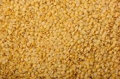 作为背景被砍的扁豆土耳其黄色 纹理 免版税库存图片