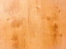 作为背景,木纹理的轻的软的木表面 免版税库存照片