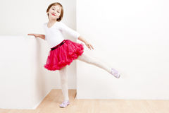 作为舞蹈演员女孩 库存照片