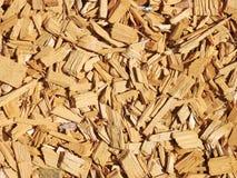 作为装饰外部公园的物质木头 免版税图库摄影