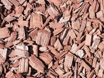 作为装饰外部公园的物质木头 库存照片
