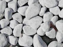 作为装饰外部公园的石头 图库摄影