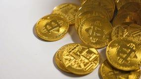 作为货币被征服的世界网络首先被创造的特写镜头模型 股票录像