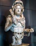 作为赫拉克勒斯, Capitoline博物馆,罗马的皇帝Commodus 免版税库存图片