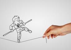 企业生命力的风险和挑战 免版税图库摄影