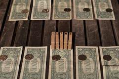 作为什一税被给的我的金钱的十分之一 图库摄影