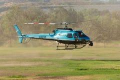 作为350个B2helicopter的欧洲直升机公司 图库摄影