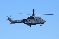 作为332超级美洲狮的欧洲直升机公司 免版税库存图片