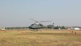 作为355N Ecureuil的欧洲直升机公司 股票视频