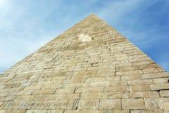 12 18作为BC编译cestius gaius金字塔罗马坟茔是 库存照片