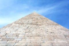 12 18作为BC编译cestius gaius金字塔罗马坟茔是 免版税图库摄影