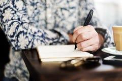 作家新闻事业想象力小说家消息概念 免版税库存照片