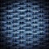 作成蜘蛛网状蓝色的纹理 库存照片
