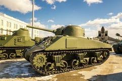 作战军史博物馆的短歌减速火箭的展览,俄罗斯,叶卡捷琳堡, 31 03 2018年 库存图片