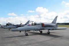 作战喷气机航空L159美国皮革化学家协会 免版税库存照片