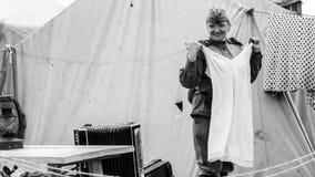 作战钢节日, 3世纪公园,圣彼德堡, 02可以2018年 免版税图库摄影