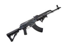 作战AK-47步枪 免版税库存照片
