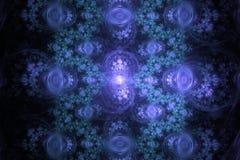 作梦想催眠墙纸摘要分数维背景的音乐不可思议的催眠状态 库存例证