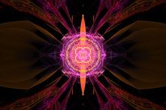 作梦想催眠墙纸摘要分数维背景的音乐不可思议的催眠状态 向量例证