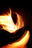 作用火安排漩涡 免版税图库摄影