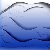 水作用纹理 免版税库存图片