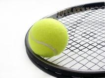 作用网球 免版税库存图片