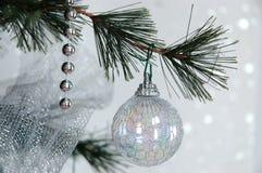 作白色的圣诞节 库存图片