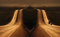 作高速公路 免版税库存照片