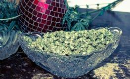 作医疗大麻的加利福尼亚 免版税库存图片