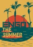 你好夏天海滩党飞行物 10个背景设计eps技术向量 免版税库存照片