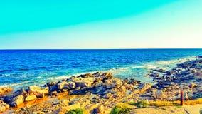 你好夏天!你好海滩 库存图片