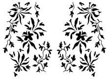 佩兹利无刺指甲花设计时尚印地安人 免版税库存图片