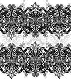 佩兹利的抽象几何样式 免版税库存照片