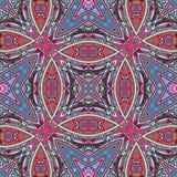 佩兹利的抽象几何样式 库存图片