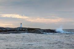佩吉的小海湾早晨 库存图片