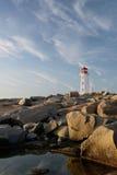 佩吉的小海湾灯塔 库存图片