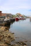 佩吉的小海湾,新斯科舍 免版税库存图片