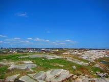 佩吉` s小海湾加拿大 库存照片