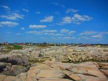 佩吉` s小海湾,加拿大 免版税库存照片