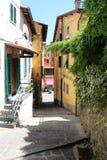 佩夏,意大利城市视图  图库摄影
