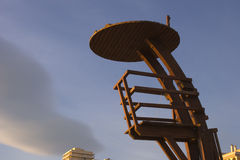 佩尼伊斯科拉北部海滩2015年1月15日 免版税图库摄影