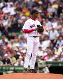 佩德罗马丁内斯,波士顿红袜 免版税库存照片